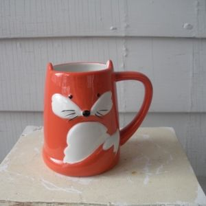 Urban Outfitters Fox Woodland Creatures Mug Cup!